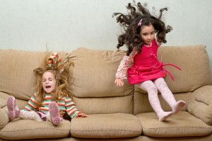 adhd children finds it difficult to sit still at one place