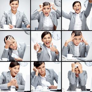 a person experiences mood swings, thereby affecting daily life routine