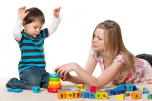 child needs verbal ques (pic source google)