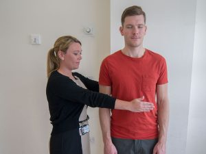 Romberg Test for Ataxia