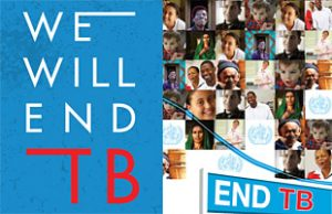 Together it's Possible -Unite to End TB ( image - who.int)